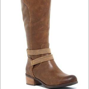 ugg darcie riding boots in chestnut